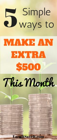 Yes, you can make a decent amount of extra money this month if you know the best places to do it.