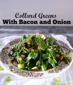 ... greens on Pinterest | Collard greens, Sauteed collard greens and