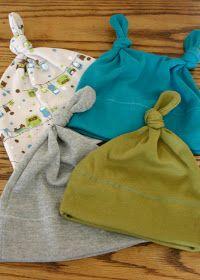 Immeasurable Grace: Random Craft Post #1 - easy DIY jersey knit baby hats