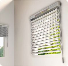 Airconditioner-Blinds soler power, they are a=on the top floor, it must get hot!
