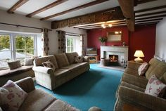 Luxury Holiday Cottages in Peak District, Cheshire, Derbyshire & Staffs, Hopton Hall Luxury Holiday Cottages, Peak District, Luxury Holidays, Derbyshire, Couch, Furniture, Home Decor, Decoration Home, Room Decor