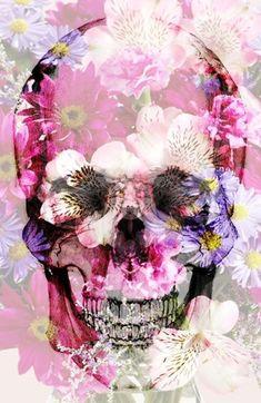 Skull 2.0 Art Print: