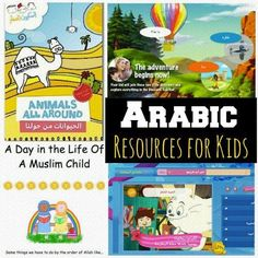 Arabic Resource for Kids and Families: web sites, videos, apps, books, etc.