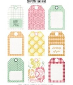 I use these for baby-shower gifts and b-day presents. Love the site :)