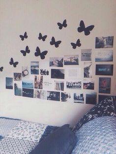 my room idea Tumblr Room Decor, Tumblr Bedroom, Tumblr Rooms, Diy Room Decor, Bedroom Decor, Home Decor, Bedroom Ideas, Teenage Room Decor Diy, Wall Decor