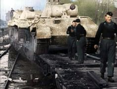Panther`s Going to Russia 1943