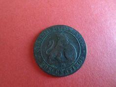 Moneda Española Antigua 1870. 2 cént. Llamada PERRA CHICA.conoce la historia!