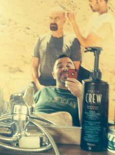 Chillin with da Crew! Barber Shop, Vodka Bottle, Drinks, Barber Salon, Drinking, Barbershop, Drink, Barbers, Beverage