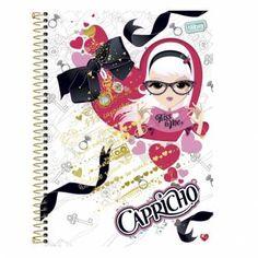 Caderno Espiral Capa Dura Capricho - CAPRICHO