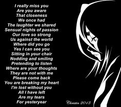 Poems about love and life tears for yesteryear poetry sad poem