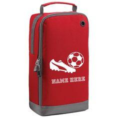 Personalised Swimming Bag Your Name *Football Motif Kids School Bag Pump Sack