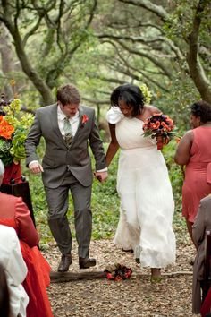 Beautiful outside spring wedding || #bwwm #wmbw