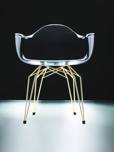 can a chair be sexy? oh yes it can...Interior Illusions DIAMOND 18K GOLD ARMCHAIR 305