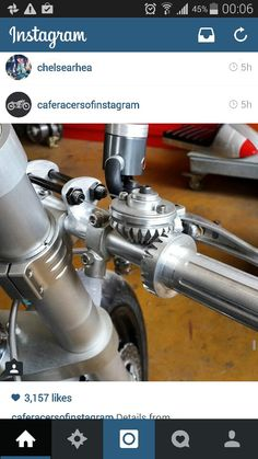 Custom Push pull motorcycle throttle
