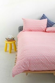 Strawberries & Cream sheets #bed