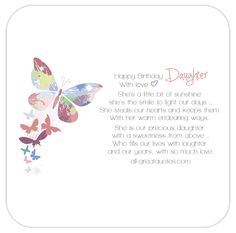 Animated Free Birthday Card For Daughter To Share On Facebook