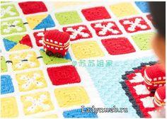 Köşeden Başlamalı Bebek Battaniyesi - Mimuu.com Blanket, Crochet, Ganchillo, Blankets, Cover, Crocheting, Comforters, Knits, Chrochet