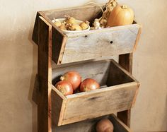 wooden vegetable racks for kitchens - Google Search