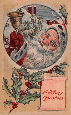 Early Christmas Postcards Santa Claus