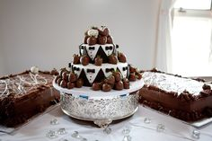 Bachelor cakes...could also be done for bachelorettes or a wedding shower