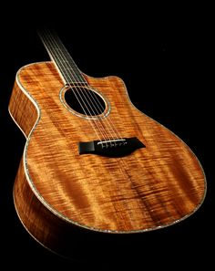 Taylor's Koa Series acoustic guitars. I'll have this very soon!