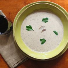 This creamy mushroom soup will warm you from the inside out with its delicate yet decadent flavor.