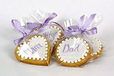 Shortbread Place Card - Robineau Patisserie - Wedding cake designers, confectioners & chocolatiers