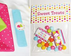Whimsical Candy Shoppe Birthday Party // Hostess with the Mostess®