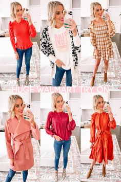 Today I have a huge Walmart try on with nothing over $36 including eight head to toe looks featuring dresses, tops, sweaters, jeans, and shoes.
