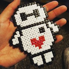 Baymax hama beads by hoappyd