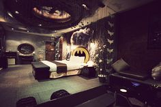 Eden Hotel's Batman Suite