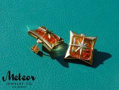 The Starlite Vintage Inspired Earrings by MeteorJewelryCo on Etsy, $60.00
