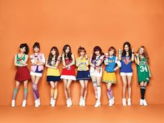 Kpop snsd in NBA outfits