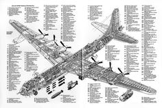 "Convair B-36 ""Peacemaker"":"