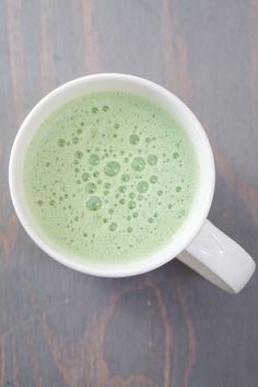 Vegan Matcha Latte-5