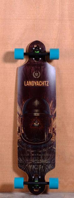 """Landyachtz 38.5"""" Drop Speed Longboard Complete"""