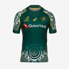 Australia Rugby, News Australia, Hijab Fashion, Rugby Jerseys, Pure Products, Falcons, Gears, Mens Tops, How To Wear