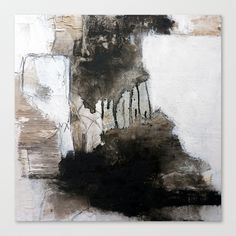 abstrakt Stretched Canvas by Lamade - $85.00