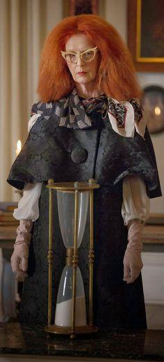 Myrtle Snow: American Horror Story Coven. Costume Designer: Lou Eyrich.  ---  image via @Alex Galloway