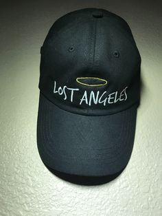 Lost Angeles Cap by SLURPEEE MART ThriceasGoodMaterials: CottonColors: blackSize: Adjustable strapCondition: New (( embroidered ))