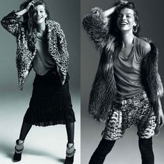 Isabel Marant Fall '09 Ad Campaign Featuring Milla Jovovich