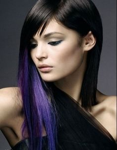 Love this purple and black