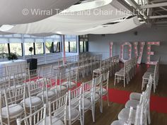 Hire our beautiful Chiavari chairs for your wedding at Ness Botanical Gardens, Ness, Neston.  Contact Jen Lemon-Parkins at the Gardens.