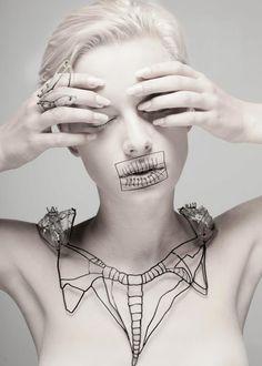 OSSOMATERIA // Kaminer Jewelry Design.  I don't mean rhinestones!