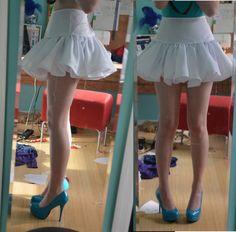 Super Fluffy Ruffly Cosplay-y Clamp-y Skirt Tutorial