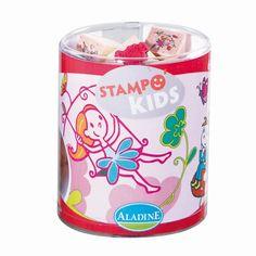 Kinderstempel Stampo Kids Elfen Feen mit Stempelkissen von Aladine