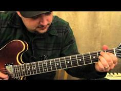 Blues guitar lessons - thirds - blues rhythm Guitar Playing - YouTube