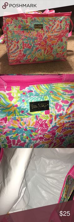 Lilly Pulitzer soft cooler Super cute Lilly Pulitzer soft cooler! Perfect for beach and pool days! Used once only! Other