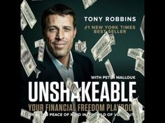 Unshakeable Full Audio Book By Tony Robins (Free) Your Financial Freedom. How To Become Rich, What It Takes, Rich People, Tony Robbins, Audio Books, How To Find Out, Freedom, Peace, Robins