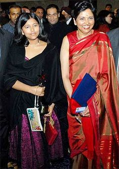 Indra Nooyi, a mother first, then a CEO Indra Nooyi seen here with her daughter at the India Abroad Person of the Year award ceremony in March this Indra Nooyi, Work Fashion, Daughter, Sari, India, Inspiration, Saree, Biblical Inspiration, Goa India